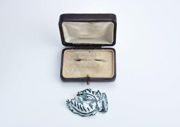 Memory Trace: Brass Brooch
