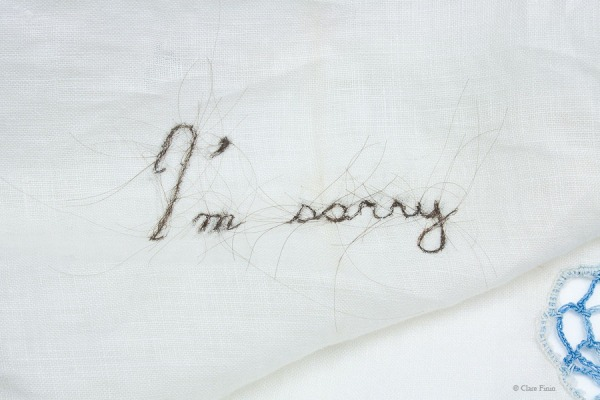 Clare Finin, heirloom, human hair, memento, artist, metalsmith, contemporary metalsmith, heirloom, memory, apology, remorse