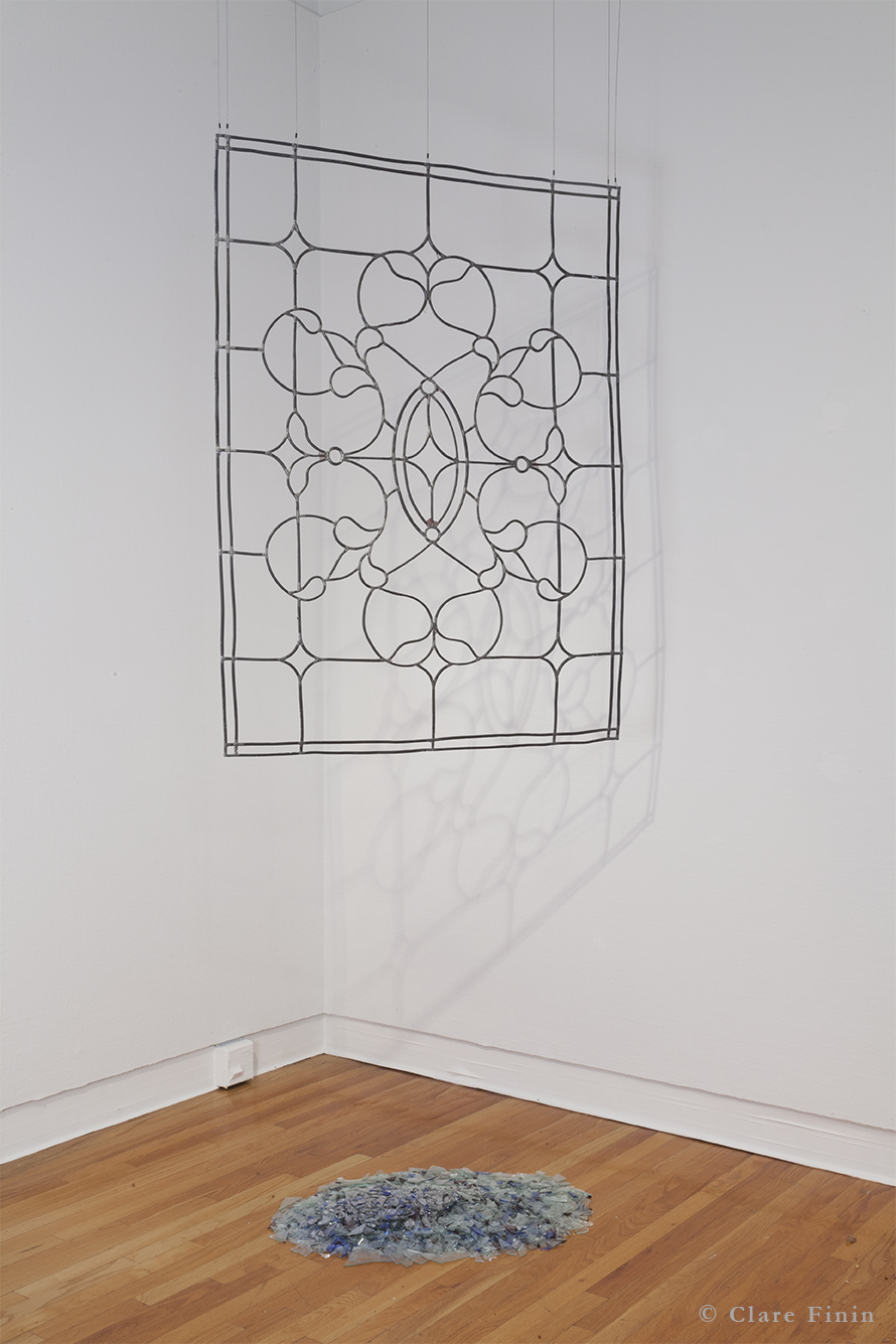 Clare Finin, contemporary art, decoration, decorative art, decorative arts, removal, antique, stained glass window, antique window
